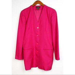 Vintage Charter Club Classic Long Blazer Jacket